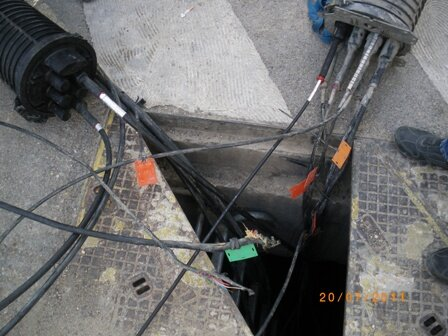Nimes travaux numericable cables