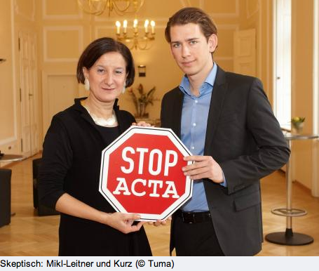 Autriche Stop ACTA