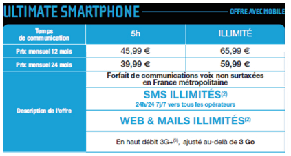 NRJ Mobile ultimate