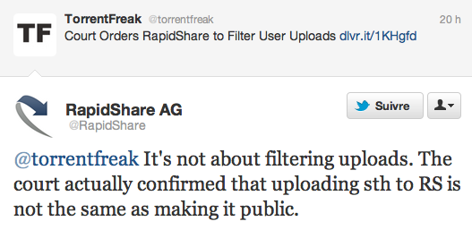 RapidShare Torrentfreak