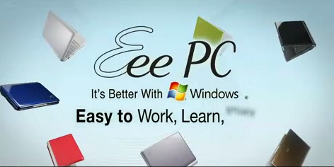Eee PC ASUS Microsoft Windows better