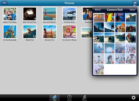 SkyDrive iOS Apple iPad