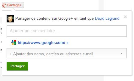 Share Simple Google Plus