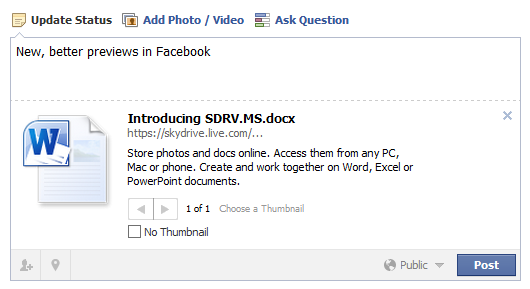 Microsoft Skydrive Bitly