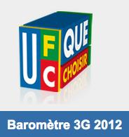 UFC Que Choisir questionnaire 3G