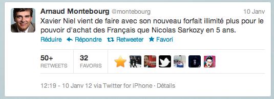 tweet montebourg free