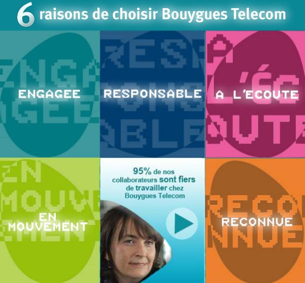 Bouygues Telecom emploi
