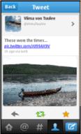 Nokia twitter application officielle