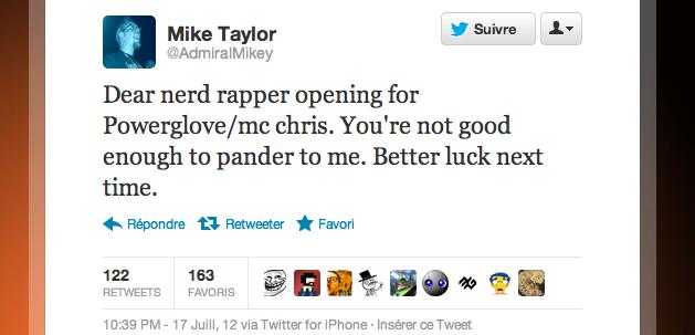 tweet mike taylor