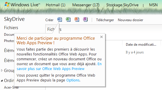 Office 2013 Web Apps Preview