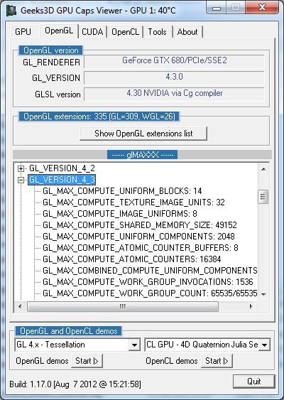 GPU Caps Viewer 1.17.0