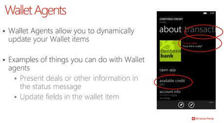wp8 wallet