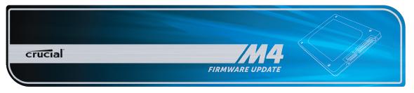 firmware crucial m4