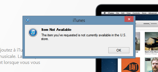 Psy iTunes Indispo