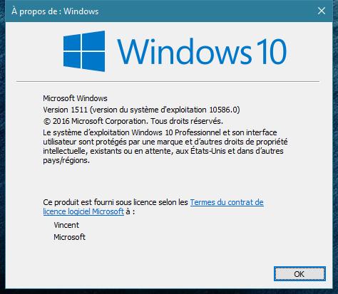 windows 10 10586 1511
