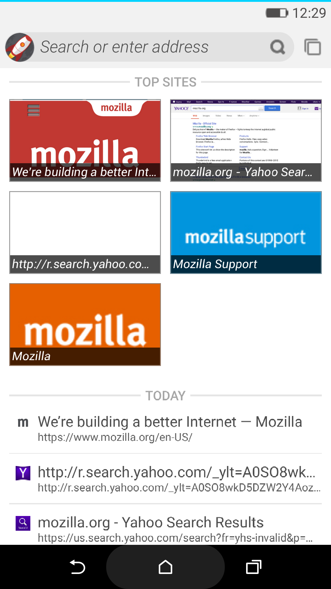 firefox os android launcher