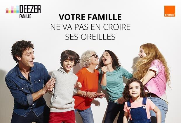 deezer tarif famille