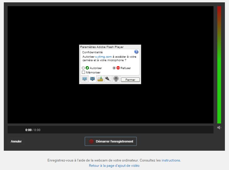 YouTube Webcam