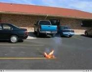 HP batterie feu