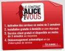 Alice pour vous contrat