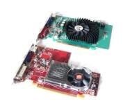 Radeon HD 2400XT GeForce 8500GT