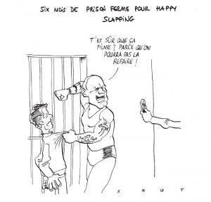 happy slapping dessin snut humour
