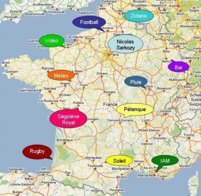 Google Trends France 2007