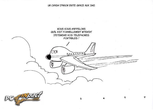 Dessin un crash d 39 avion vit gr ce des sms next inpact - Dessin d avion facile ...
