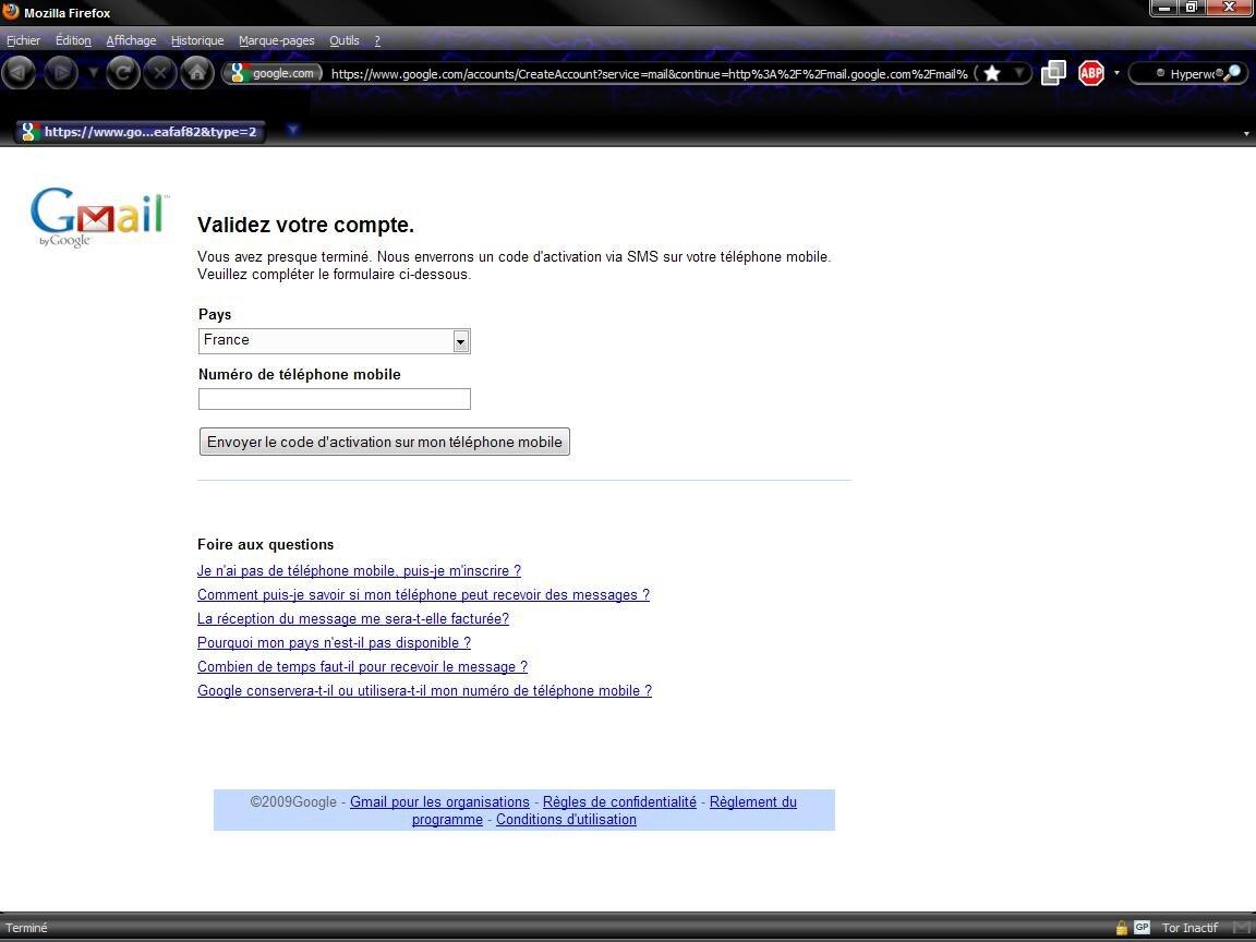 gmail bient 244 t un t 233 l 233 phone mobile pour valider compte next inpact