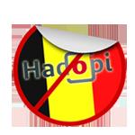hadopi mayonnaise logo belgique