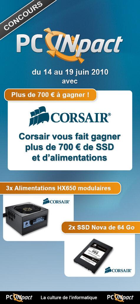 Concours Corsair Juin 2010