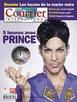 prince album 20TEN courrier international