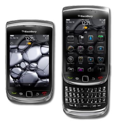 Blackberry rim torch 9800
