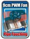 Pipe touching Radeon HD 6850 MSI