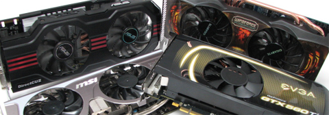 Comparatif GeForce GTX 560Ti