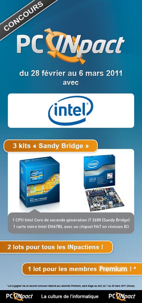 Concours PCi Sandy Bridge
