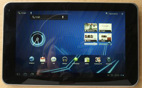 LG Optimus PAD Tegra 2 Android 3.0 HoneyComb