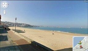 Google Street View plage