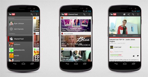 android youtube application