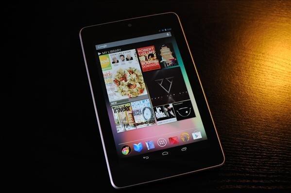 Nexus 7 Google tablette