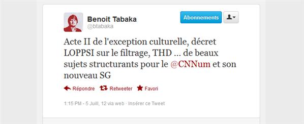 Benoit Tabaka CCNUM