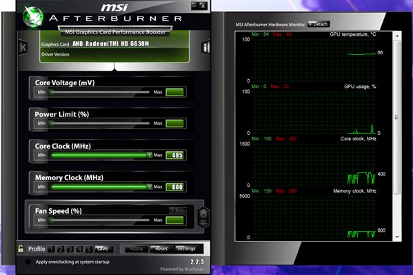 MSI afterburner 2.2.3