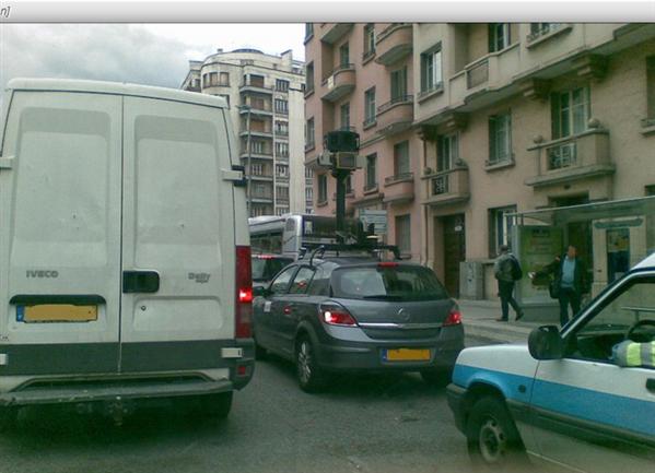 Google Car Street View