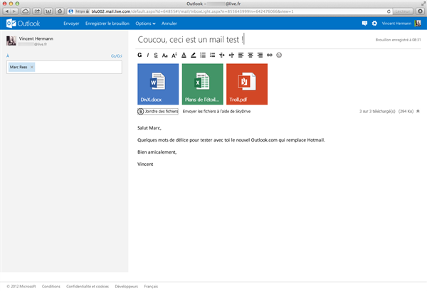 outlook hotmail metro