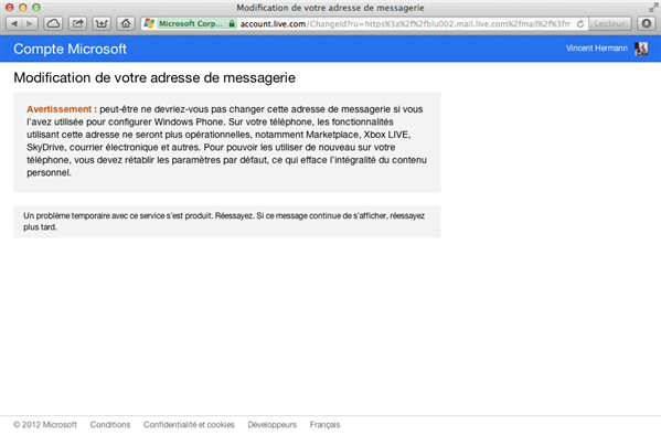outlook live hotmail