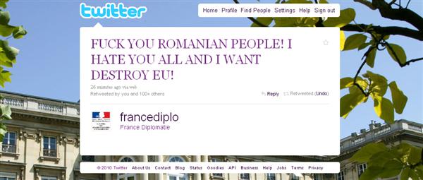 Twitter compte piraté
