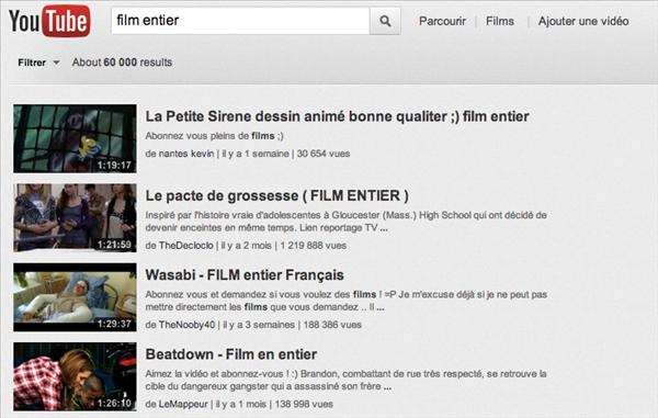youtube films