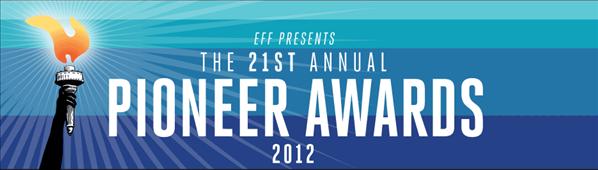 pionner awards eff