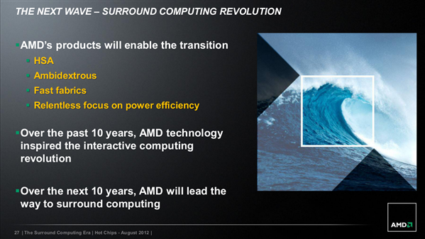 AMD Hot Chips 2012 Steamroller