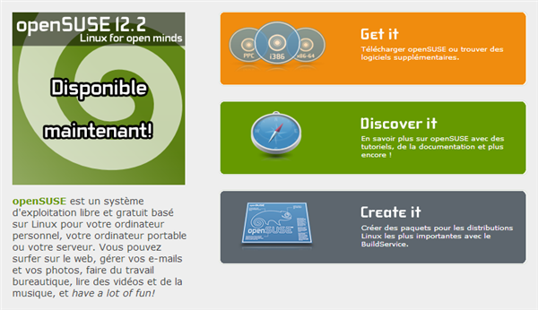 Open Suse 12.2